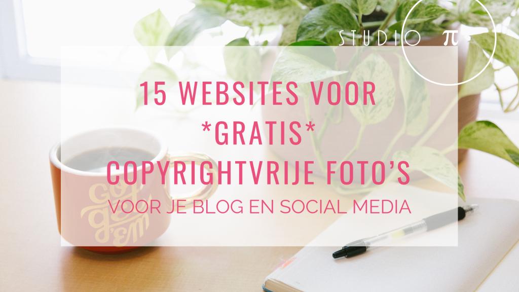 Copyrightvrije foto's voor je blogposts en social media header
