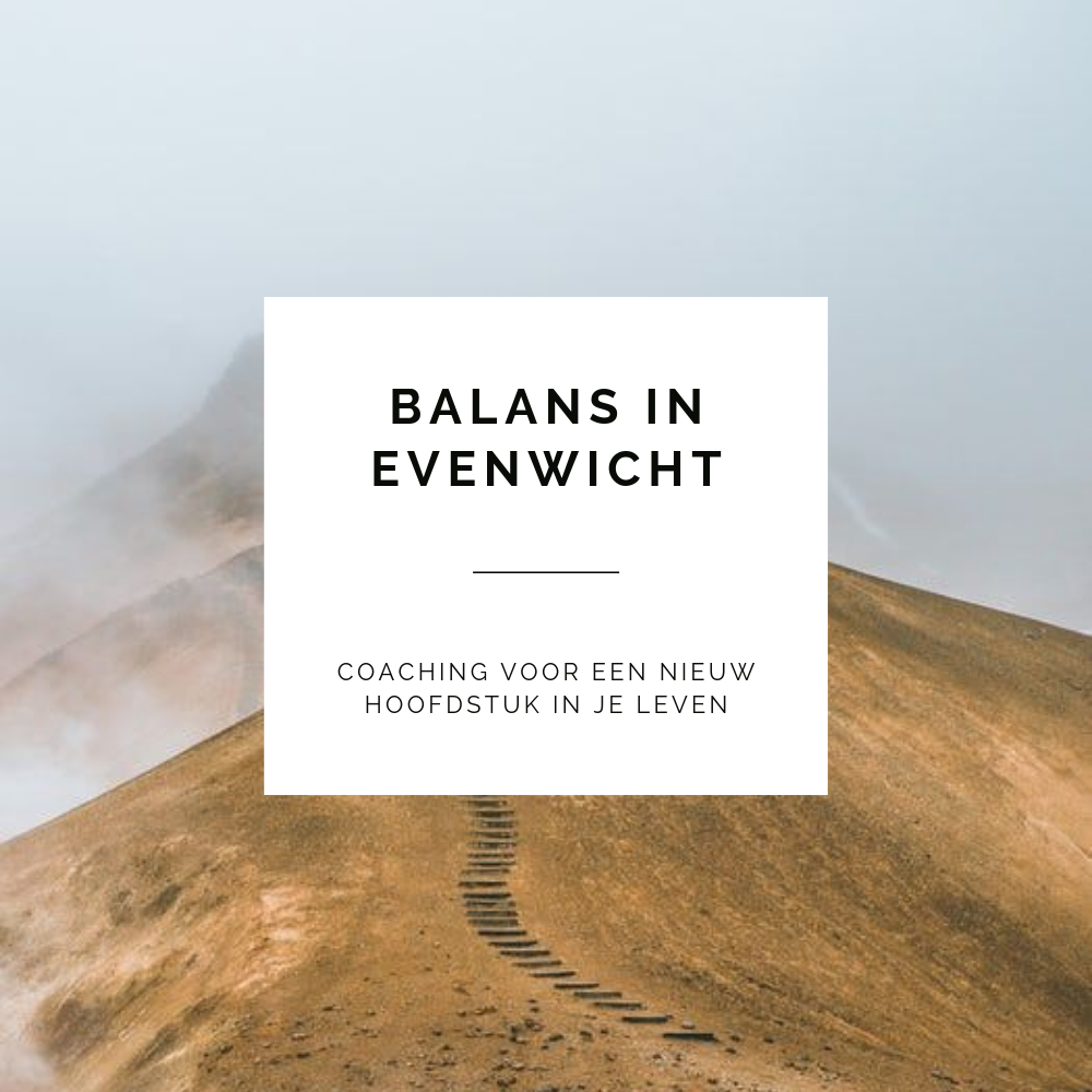 Balans in evenwicht Ans Simons graphic